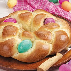 Easter Egg Bread Recipe photo by Taste of Home