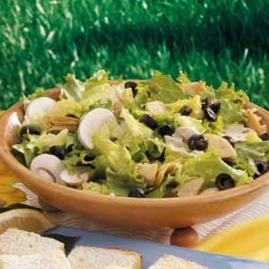 Artichoke Tossed Salad Recipe