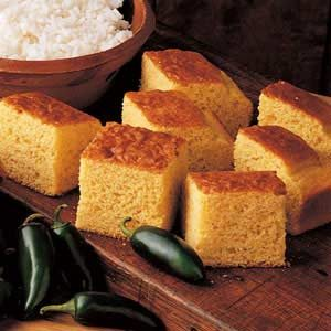 Corn Bread Squares Recipe
