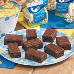 Frosted Cake Brownies Recipe