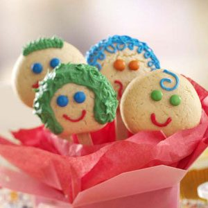 Smiling Sugar Cookies