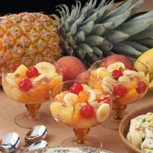 Peachy Fruit Medley Recipe