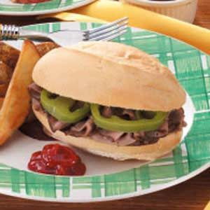 Moist Italian Beef Sandwiches Recipe