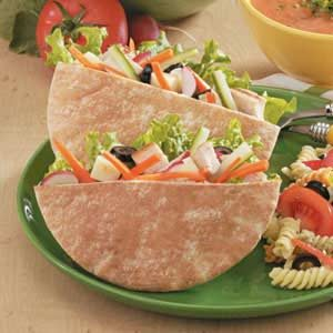 Chicken Salad Pitas Recipe