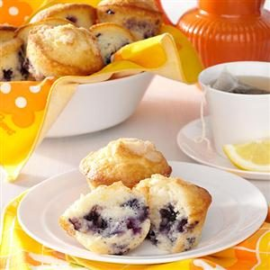 Sour Cream Blueberry Muffins Recipe