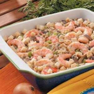 Wild Rice Shrimp Bake Recipe