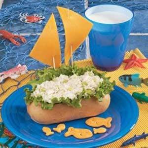 Tuna Boats Recipe
