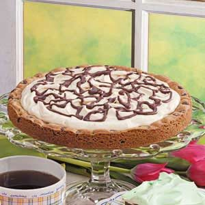 Chocolate Chip Cookie Tart Recipe
