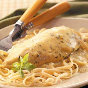 Creamy Herbed Chicken Recipe