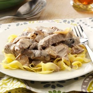 Slow-Cooked Stroganoff Recipe