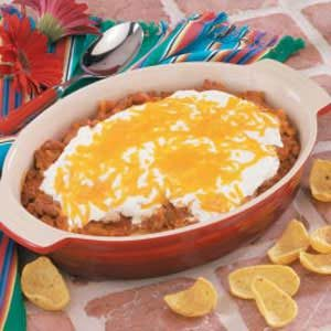Sour Cream Beef 'N' Beans Recipe