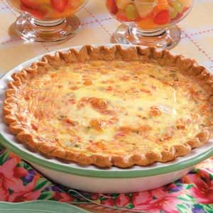 Crab Quiche Recipe