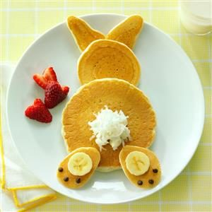 Watch Us Make: Fluffy Bunny Pancakes