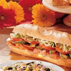Tasty Turkey Sub Recipe