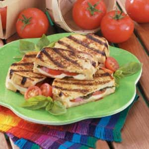 Fast Italian Grilled Cheese