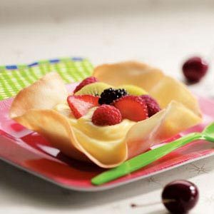 Sugary Dessert Shells Recipe