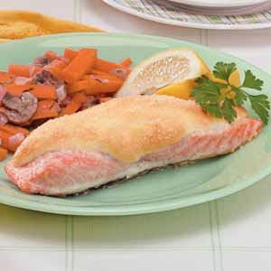 Snowcapped Salmon Recipe