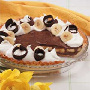 Chocolaty Banana Cream Pie Recipe