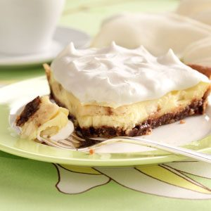 Chocolate Chip Banana Cream Pie Recipe