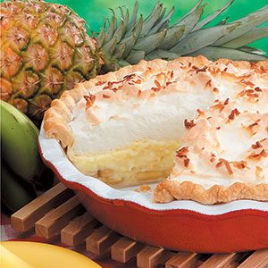 Hawaiian Cream Pie Recipe