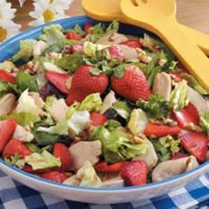 Chicken Strawberry Salad Recipe