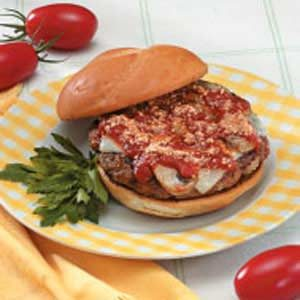 Homemade Italian Beef Patties Recipe