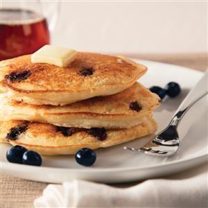 Ricotta Blueberry Pancakes Recipe