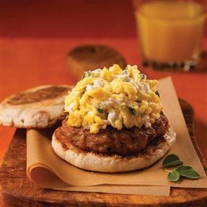 Ricotta Breakfast Sandwich Recipe