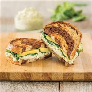 Spinach Pesto with Avocado Grilled Cheese Recipe