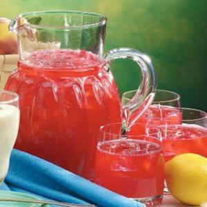 Raspberry Mint Cooler Recipe