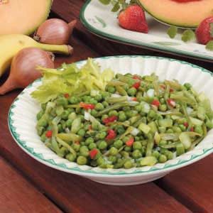 Green Bean 'N' Pea Salad Recipe