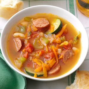 Spicy Kielbasa Soup Recipe