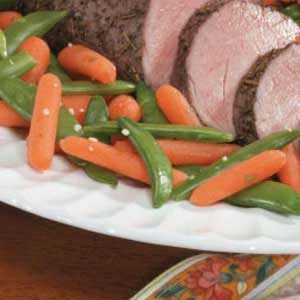 Snappy Peas and Carrots Recipe
