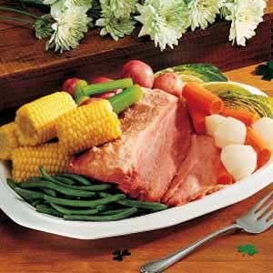 Corned Beef and Mixed Vegetables Recipe