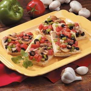 Vegetable Focaccia Recipe