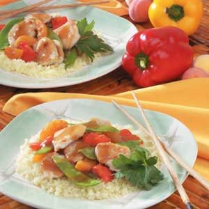 Apricot Turkey Stir-Fry Recipe