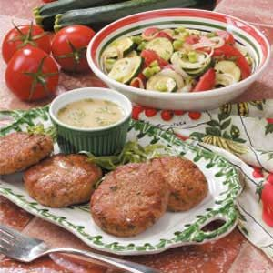 Tarragon Turkey Patties Recipe