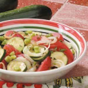 Zucchini Tomato Salad Recipe