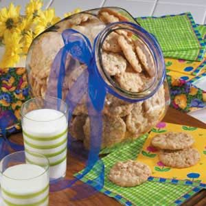 Makeover Crispy Oat Cookies Recipe