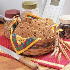 Raisin Wheat Bread Recipe