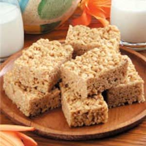 Quick Crisp Snack Bars Recipe