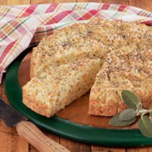 Rustic Round Herb Bread Recipe