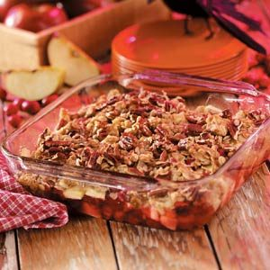 Apple Cranberry Crumble Recipe
