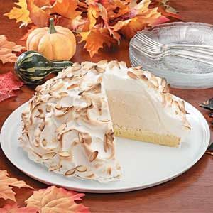 Pumpkin Baked Alaska Recipe