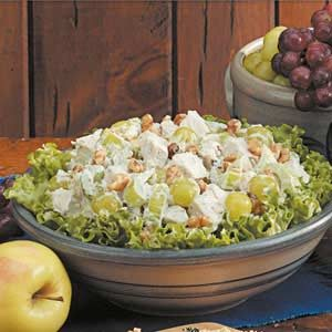Fruited Tarragon Turkey Salad Recipe photo by Taste of Home