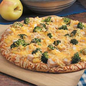 Turkey Divan Pizza Recipe