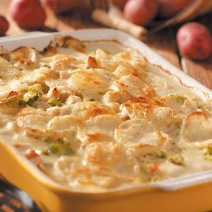 Hearty Alfredo Potatoes
