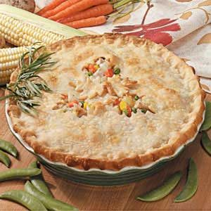 All-American Turkey Potpie Recipe