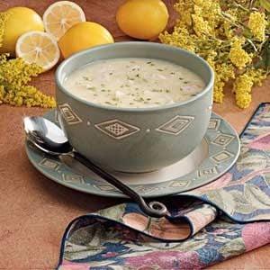 Lemony Turkey Rice Soup Recipe