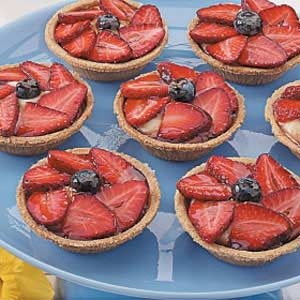Strawberry Cream Tarts Recipe